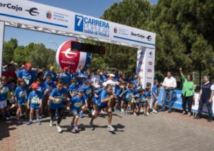 Más de 1.300 corredores partiiciapron ayer en la carrera popular de Pozuelo de Alarcón