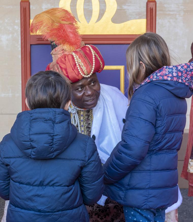 Melchor, Gaspar y Baltasar llegan a Pozuelo de Alarcón para atender los últimos deseos de los más pequeños