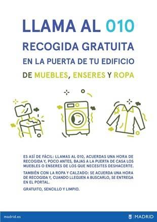 ¿No sabes dónde tirar tus muebles, ropa y enseres viejos en Aravaca?