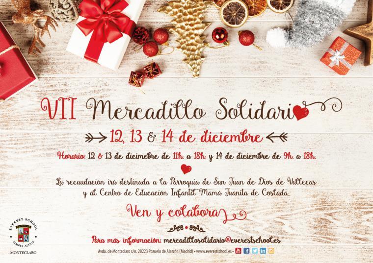 VII Edición del Mercadillo Solidario Navideño