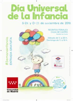 La Comunidad celebrará el Día Universal de la Infancia con talleres y actividades para toda la familia