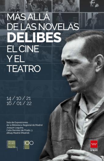 La Comunidad de Madrid homenajea a Delibes con la exposición 'Más allá de las novelas: Delibes, el cine y el teatro', en el 'El Águila'