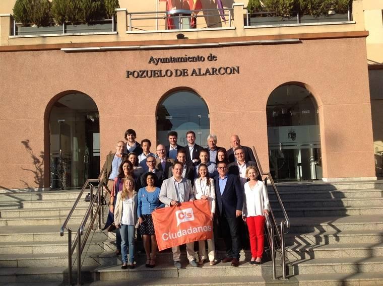 """Ciudadanos Pozuelo apoya la derogación de la Ley """"Virus"""" en la Asamblea de Madrid"""