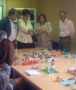 Andrés Calvo-Sotelo, Susana Pérez Quislant, Tessa Aparicio y Diego de Arístegui