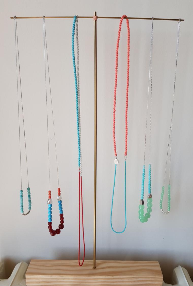 Maite Arlaban apuesta por los materiales nobles para su nueva colección de joyería