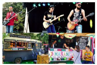 12 gastronetas reciben la primavera en la III Pozuelo Food Truck, al ritmo de tres conciertos de grandes clásicos del rock'n roll