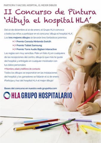 HLA Universitario Moncloa organiza el concurso de pintura 'Dibuja el Hospital HLA'