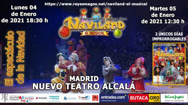 Naviland el musical: El lugar donde viven los Reyes Magos