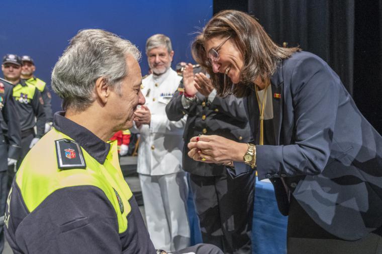 La alcaldesa pone en valor el trabajo de la policía de Pozuelo que convierte a la ciudad en una de las más seguras de España