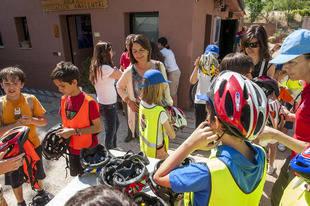 Bicis nuevas para celebrar el Día del Medio Ambiente en Pozuelo