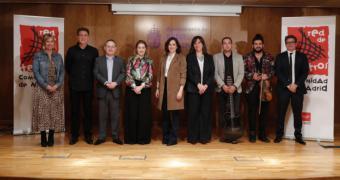 Díaz Ayuso presenta más de 100 actividades en 65 municipios de la Red de Teatros