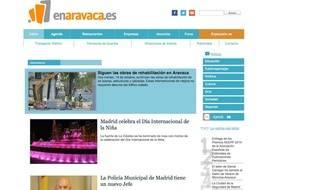 """El medio de comunicación de Aravaca """"enaravaca.es"""" cambia de imagen"""