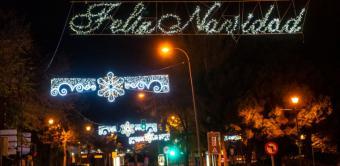 Arranca el Tren de la Navidad que recorrerá las calles de Pozuelo hasta el próximo 4 de enero