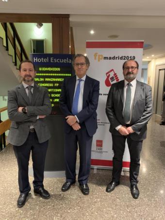 Enrique Ossorio asiste al encuentro de los equipos directivos de los centros de enseñanzas de FP