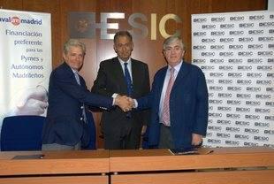 Avalmadrid y ESIC Pozuelo con las nuevas empresas