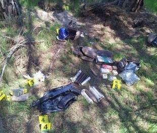 Armas y explosivos en Pozuelo