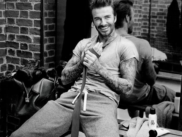 Protege tus tattoos como David Beckham