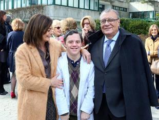 Paloma Adrados visita la Fundación Gil Gayarre de Pozuelo