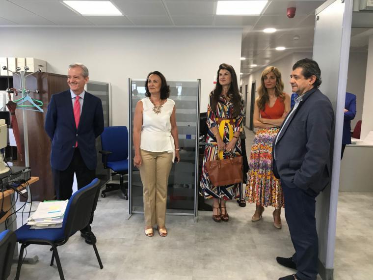 La Comunidad amplía y mejora las instalaciones de la Fiscalía de Pozuelo