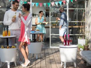 Mesas nevera Cool Bar, ¡el alma de la fiesta!