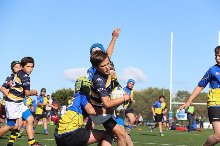 Más de 1.000 jugadores de rugby se darán cita en el Torneo de Otoño Aedas Homes