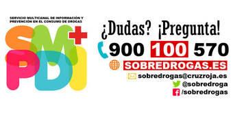 SobreDrogas: El servicio multicanal de Cruz Roja