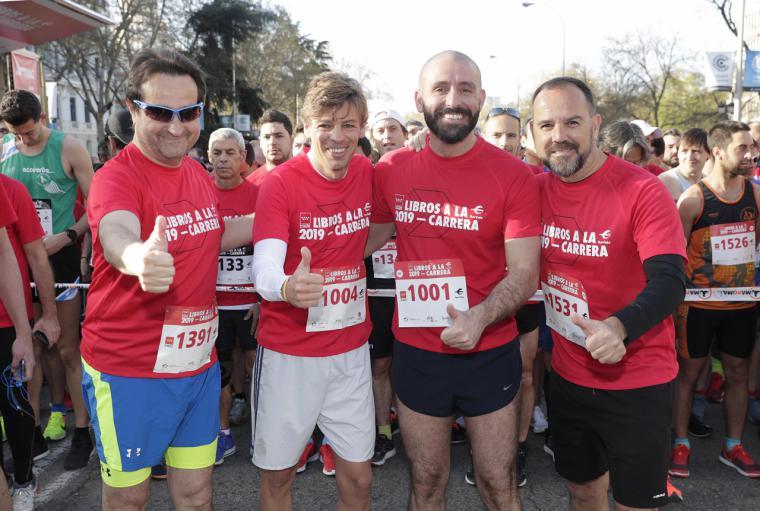La Comunidad fomenta el running y la lectura en una nueva edición de 'Libros a la carrera'