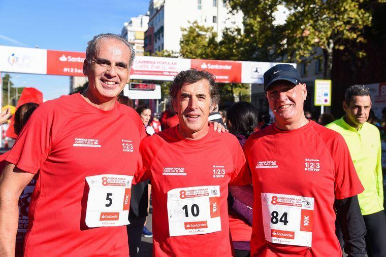 Miles de madrileños participan en la carrera solidaria 'Corre por el niño', organizada por el Hospital Niño Jesús