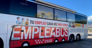La Comunidad de Madrid pone en marcha un nuevo Empleabus para las zonas Sureste y Noroeste de la región