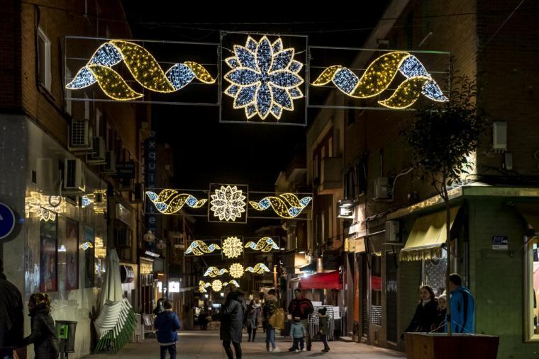 Pozuelo de Alarcón ilumina la Navidad con su tradicional encendido de luces