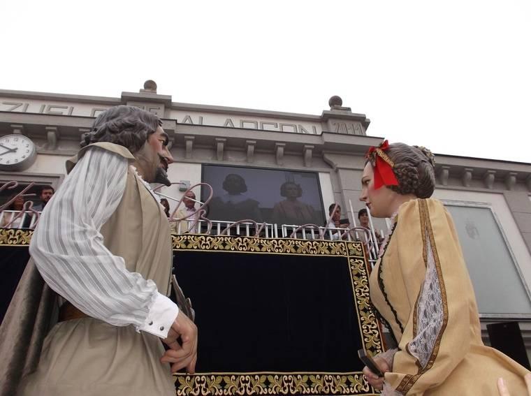 Gabriel y Mariana, protagonistas de las Fiestas de Pozuelo