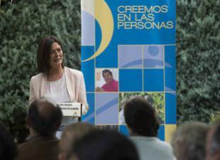 Paloma Adrados en el centro 'Los Fresnos' de la Fundación Magdalena en Pozuelo (Foto: David Mudarra)