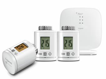 El sistema de calefacción Gigaset garantiza la temperatura adecuada para cada habitación