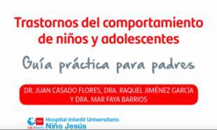 La Comunidad de Madrid ofrece la primera guía para padres sobre trastornos de comportamiento de niños y adolescentes