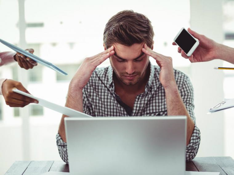 El estrés afecta al 60% de los trabajadores