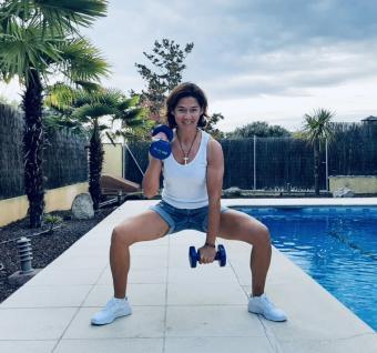 Entrena todos los sábados, desde casa, con Cris Tello, entrenadora personal y preparadora física del Atlético de Madrid Femenino