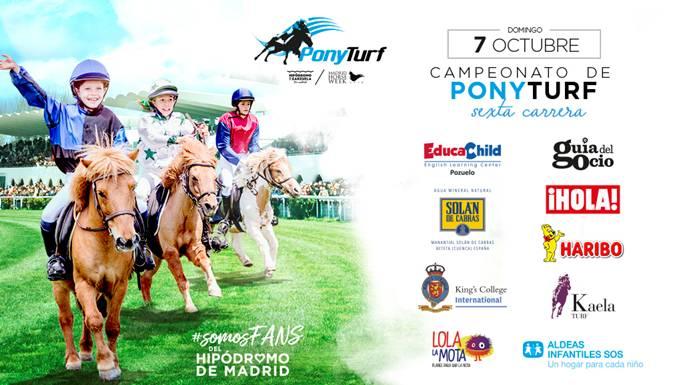 Disfruta de las carreras de pura sangres y de la IV Prueba del I Campeonato de ponies