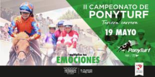 Tercera carrera del campeonato Ponyturf
