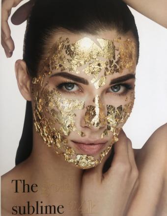 Recupera la densidad y luminosidad del rostro y evita el descolgamiento del óvalo facial con el exclusivo tratamiento Gold Sublime 24K de Sofía Bertrand