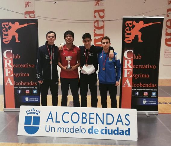 Luque y Marqueta vuelven al podio madrileño con la plata y el bronce de la tercera fase sub-17