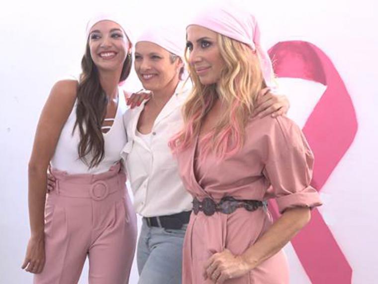 Marta Sánchez y Ana Guerra se unen de nuevo en la lucha contra el cáncer de mama