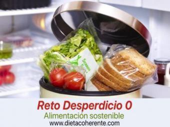 Únete al reto Desperdicio Cero con Dieta Coherente