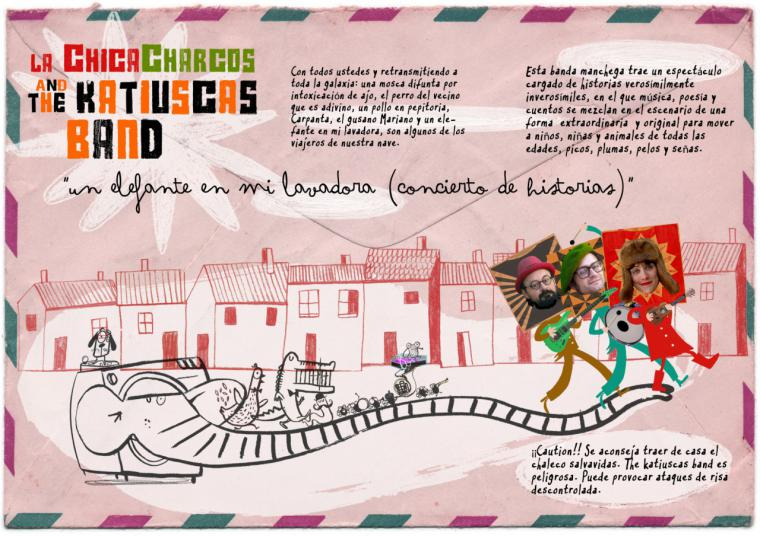 La Chica Charcos and The Katiuscas Band presentan en Pozuelo 'Un elefante en mi lavadora'