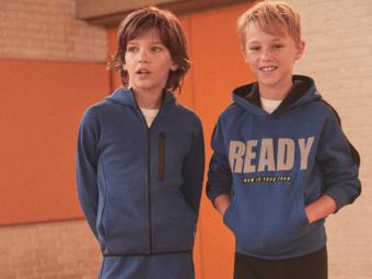 Lefties lanza la primera colección de ropa deportiva para los más pequeños de la casa