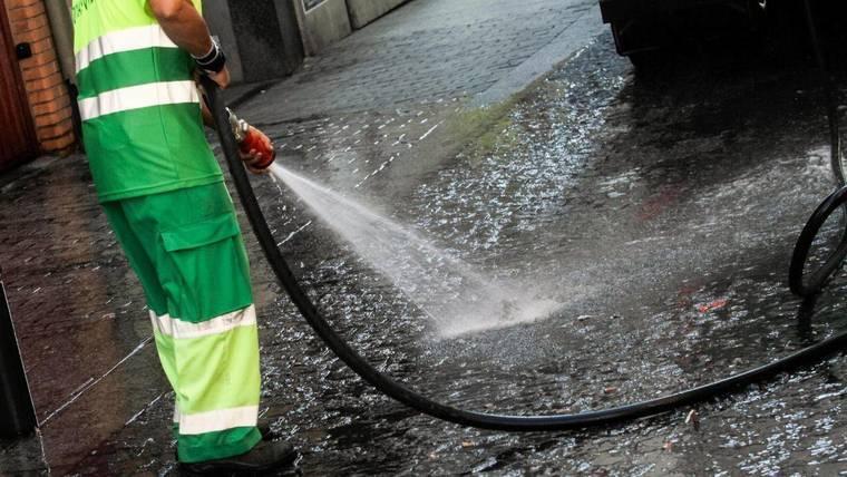 Esta semana habrá limpiezas intensivas en Valdemarín