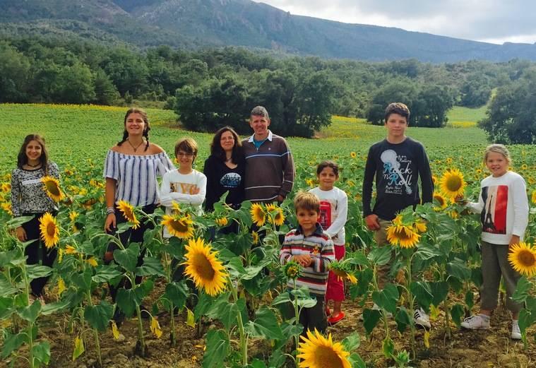 Los Macicior Cornide, premio Familia Numerosa de Pozuelo