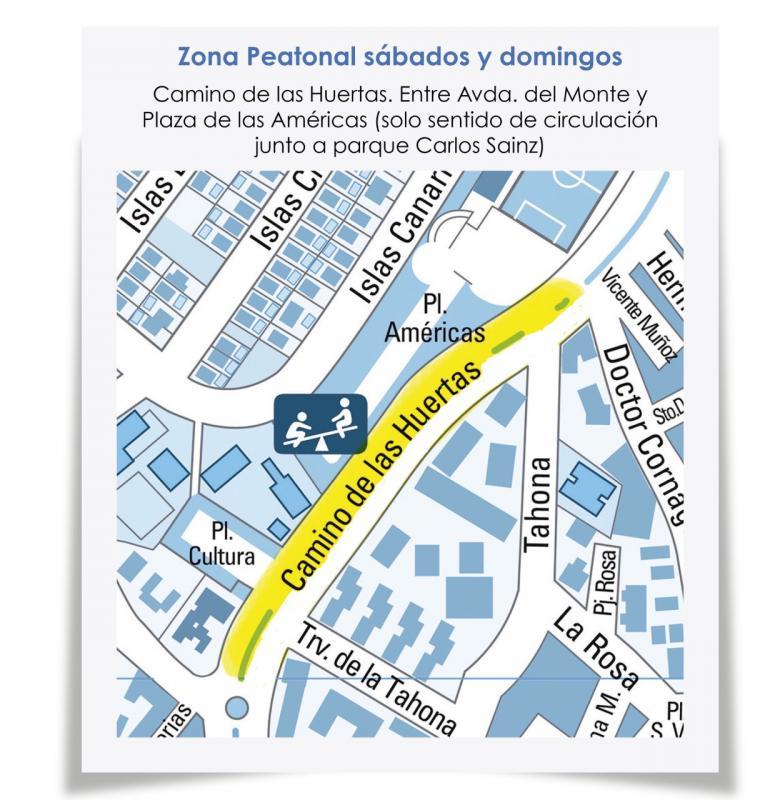 Pozuelo de Alarcón amplía las calles peatonalizadas para facilitar el paseo y el ejercicio durante los fines de semana