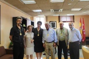 La Junta Directiva de la Congregación de Nuestra Señora de la Consolación Coronada con Susana Pérez Quislant y Félix Alba