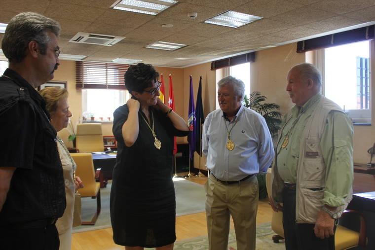 Susana Pérez Quislant, Medalla de Oro de la Congregación de la Patrona de Pozuelo