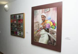 Pintoras de Pozuelo exponen sus obras en Padre Vallet